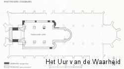 Martinikerk plattegrond