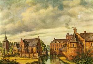 Gezicht op 's-Heerenberg, 18e eeuw