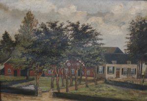 Huis den Dijk te Didam vóór de brand in 1887
